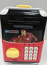 "Сейф-копилка с кодовым замком ""Super Heroes"""