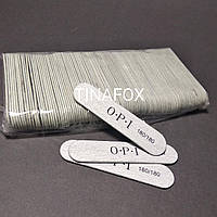 Набор мини овальных пилочек для ногтей OPI 100 шт, 180/180 грит
