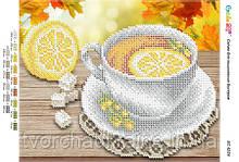 Схема для вишивання бісером Чай з лимоном (част. виш.)