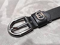 Женский кожаный ремень GUGGI 25мм
