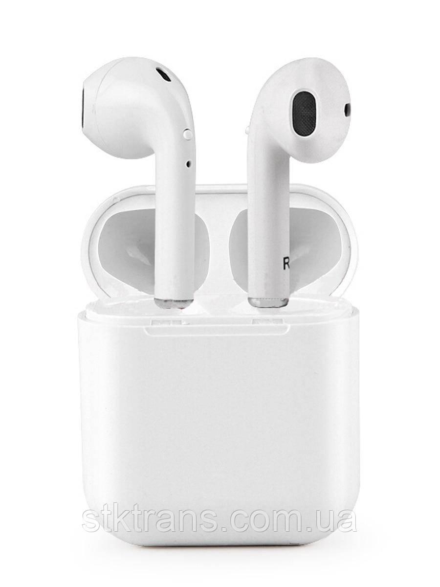 Беспроводные Bluetooth наушники iFans i8 mini TWS Stereo с боксом для зарядки White (FL-435)