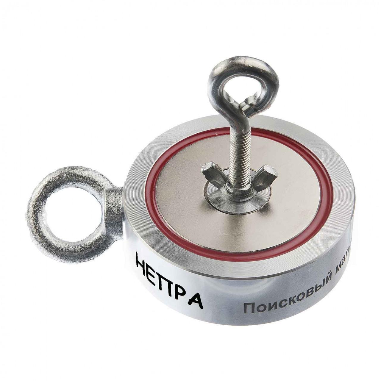 Двусторонний поисковый магнит НЕПРА 2F400