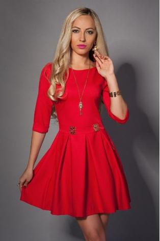 Стильное молодежное платье, фото 2