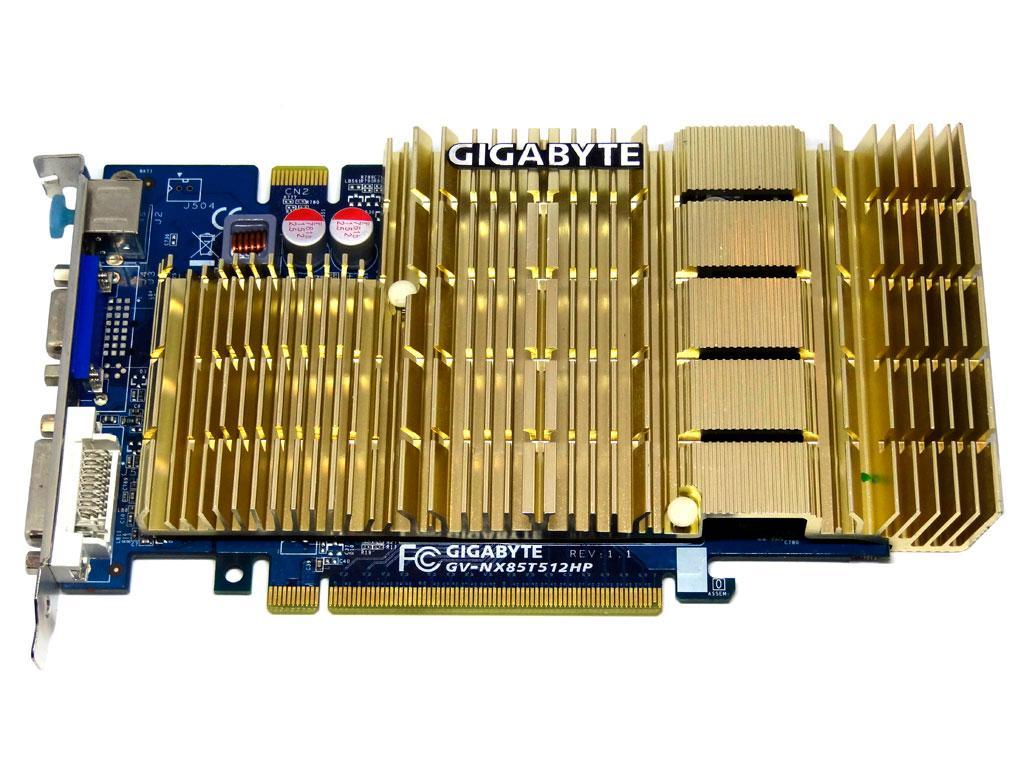 Відеокарта Gigabyte 8500 GT 512Mb PCI-Ex DDR2 128bit (DVI, VGA, sVideo)