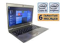 Ноутбук Toshiba Protege Z930 13.3 1366x768 / Intel Core i5-3437U (2x max 2.9GHz) / RAM 4Gb / SSD 120Gb / АКБ 1ч. 40мин. / Сост 8.5 из 10 БУ