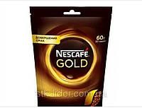 """Кофе растворимый Nescafe Gold 60г """"Nescafe"""