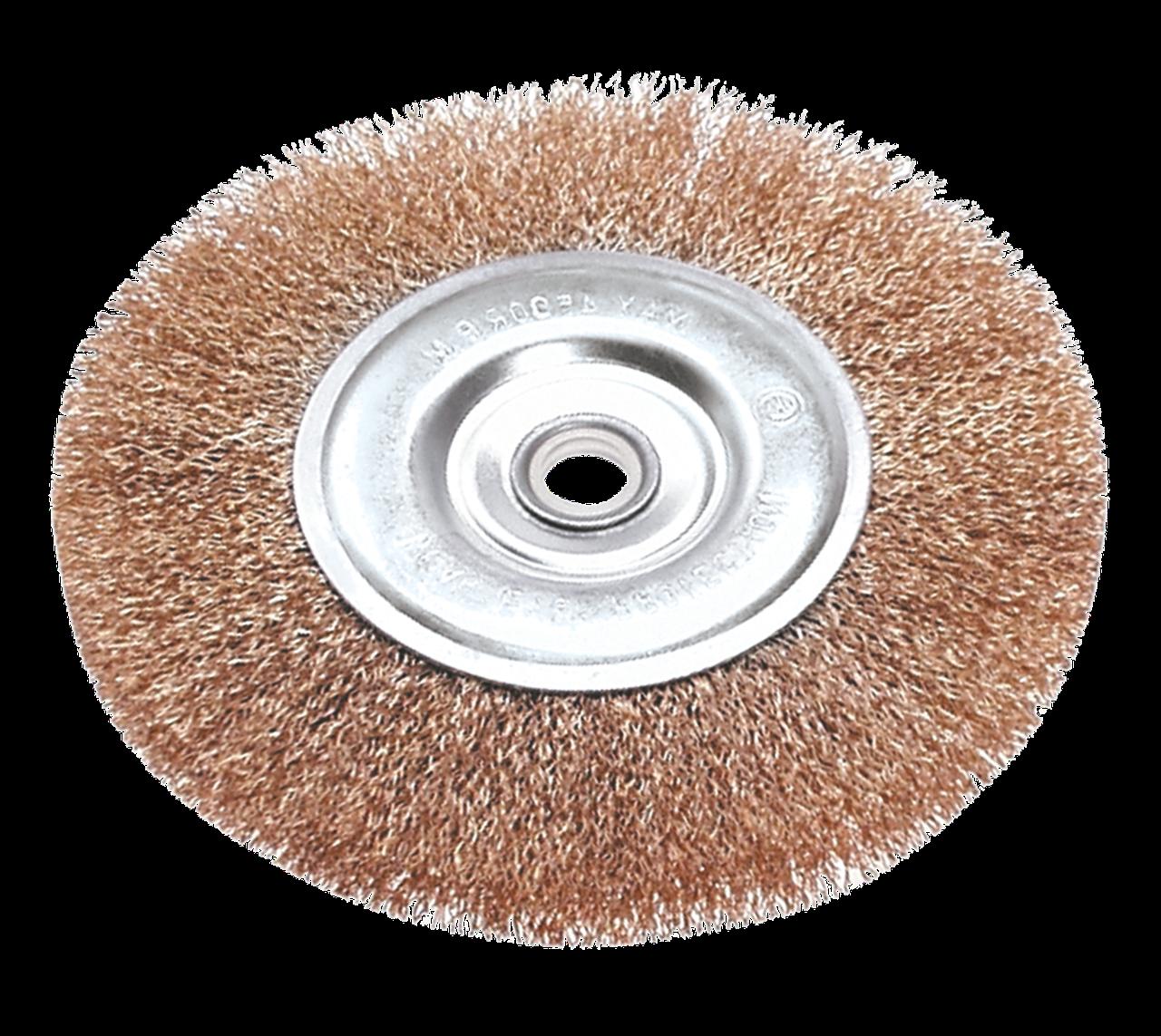 Дротяна Щітка дискова, 150 мм, 62H315, Verto
