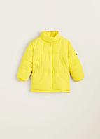 Куртка Mango желтая