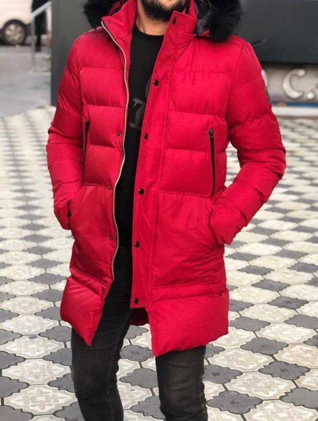 Мужская стильная куртка-парка, до -15 (4 цвета)