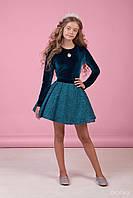 Комплект юбка и блузка Zironka зеленый