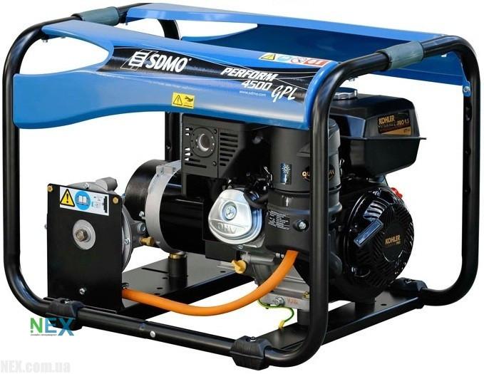 ⚡SDMO Perform 4500 GAZ (3,5 кВт)