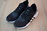 Чоловічі кросівки в стилі Adidas Equipment сірі з чорним, фото 4