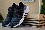 Чоловічі кросівки в стилі Adidas Equipment сірі з чорним, фото 6