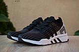 Чоловічі кросівки в стилі Adidas Equipment сірі з чорним, фото 7