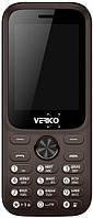 Мобильный телефон Verico Carbon M242 Brown