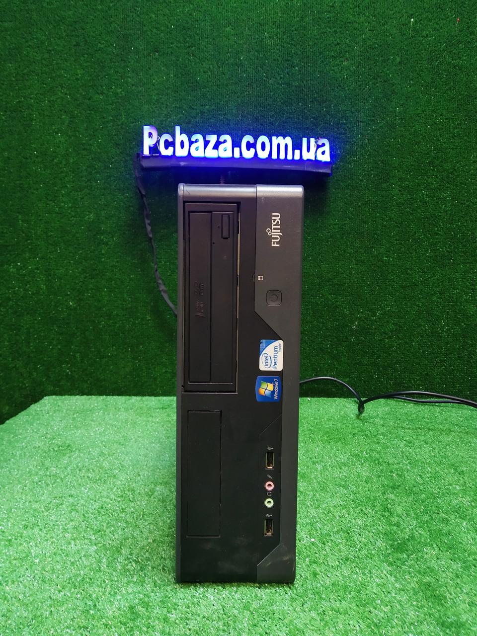 Компактный ПК Fujitsu, Intel 2 мощных ядра E7500 2.93Ггц, 4 ГБ, 80 ГБ Настроен! Есть Опт! Гарантия!