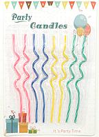 """Свечи для торта """"Коктельные"""" В наборе 8 свечек. Высота 14 см."""