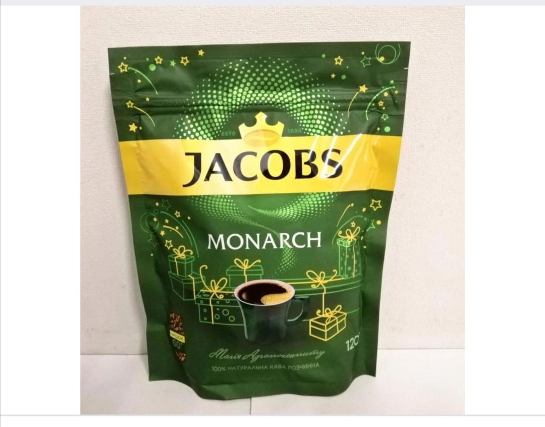 Кофе растворимый Jacobs Monarch 120г