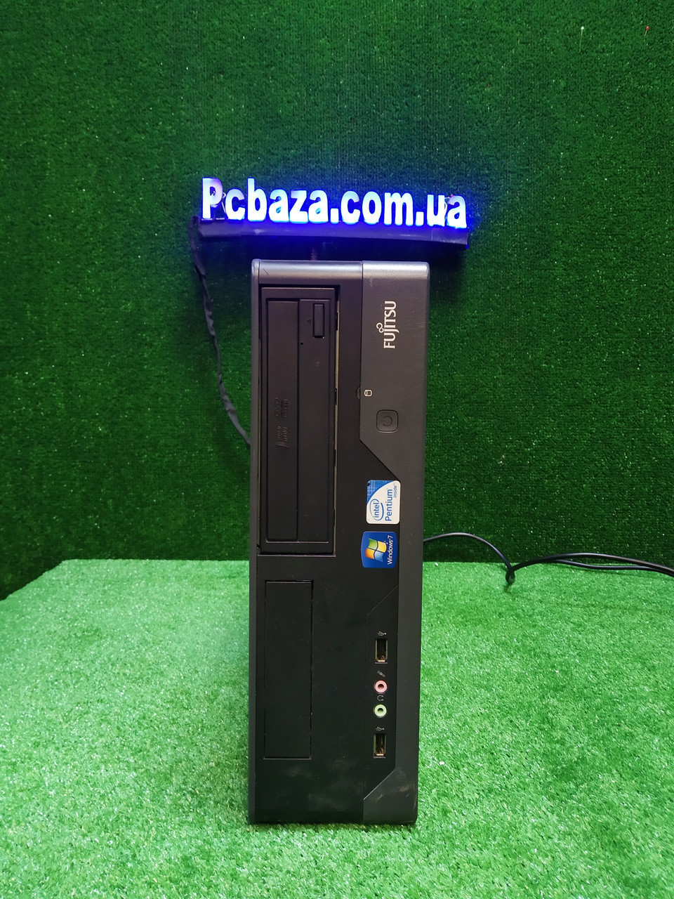 Компактный ПК Fujitsu, Intel 2 мощных ядра E7500 2.93Ггц, 4 ГБ, 500 ГБ Настроен! Есть Опт! Гарантия!
