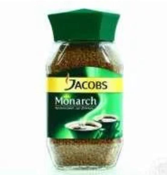 Кофе растворимый Jacobs Monarch с/б 190г