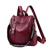 Рюкзак-сумка женский M&JJ Бордо 30*31*13 (3101)