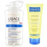 Набор  Uriage Xemose  Урьяж Ксемоз  для сухой, склонной к дерматитам, атопии кожи