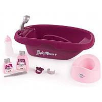 Ванночка для купания куклы пупса Baby Nurse Smoby 220340