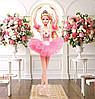 Barbie  Барби  Прима Балерина шарнирная mattel Barbie Ballet Wishes Fashion Doll, фото 5