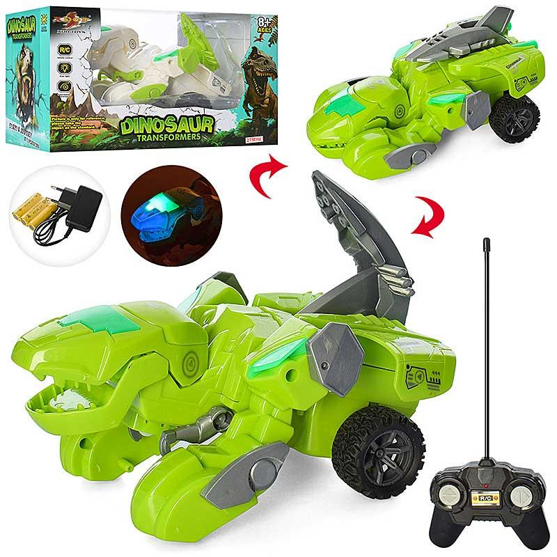 """Машина на радиоуправлении 869-31А """"Динозавр"""", аккумулятор, 17 см, звук, свет, 2 цвета"""