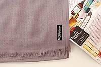 Турецкий серый шарф из тонкой пашмины 117-7