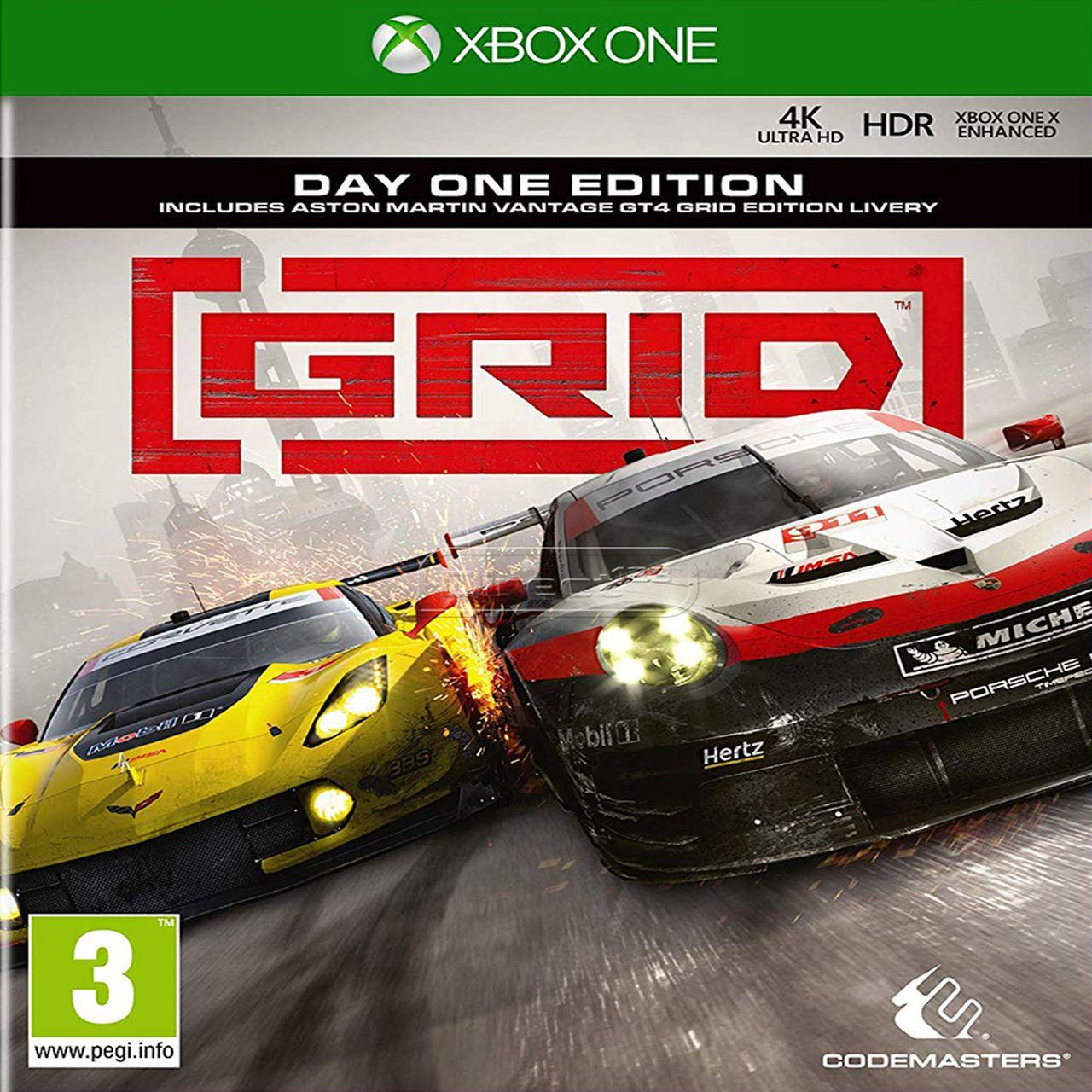 GRID day one edition ENG Xbox One (NEW)