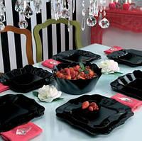 Сервиз столовый Luminarc Authentic black E6196 (19 предметов), фото 1
