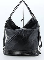 Сумка-рюкзак  M&JJ Черный 35х35х14 см (4205)