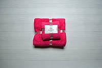Подарочный Комплект из двух полотенец Розовый