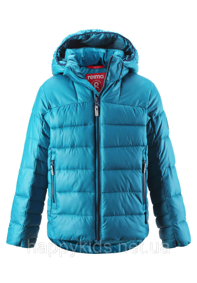 Зимняя куртка для мальчика Reima Petteri 531343.9-7800. Размеры 104-164.