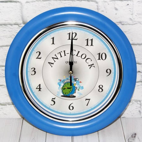 Часы идут в обратную сторону Anti-clock, фото 2