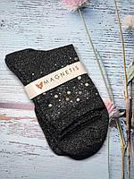 Жіночі шкарпетки Magnetis SKG 11 Lurex з перлинками