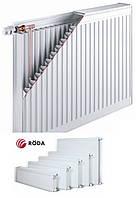 Радиатор стальной 22 R (300х1400) RODA  боковое подключение