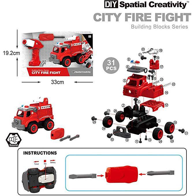 Машина-конструктор пожарная
