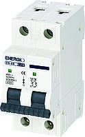 Модульный автоматический выключатель ENERGIO EN-6B 2P C 20А 6кА