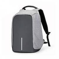 Рюкзак Bobby антивор серый R178292