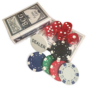 Покерный набор в кейсе 500 фишек, фото 2