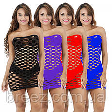 Эротическое платье Крупная сетка, фото 3