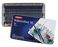 Карандаши акварельные набор 36цв. Derwent Watercolour металл коробка D-32885
