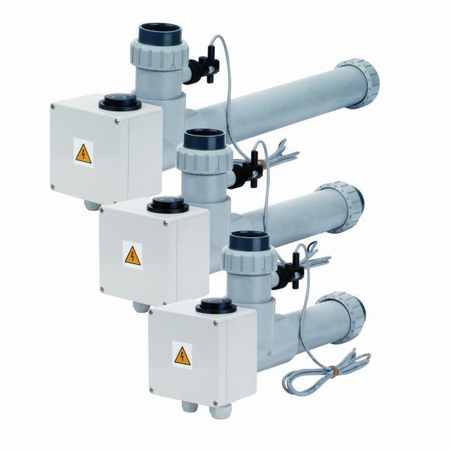 Электронагреватель воды для бассейна Vagner TITAN EOVTi-12, 12кВт 230В
