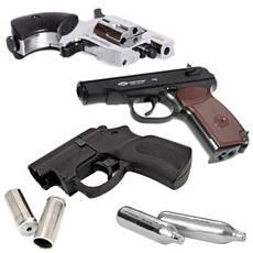 Пістолети, гвинтівки і револьвери