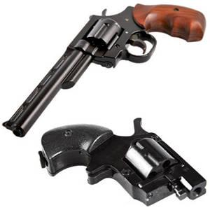 Револьверы под патрон флобера