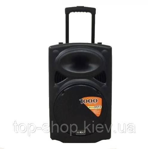 Мощная портативная колонка-чемодан UKC BT15A bluetooth