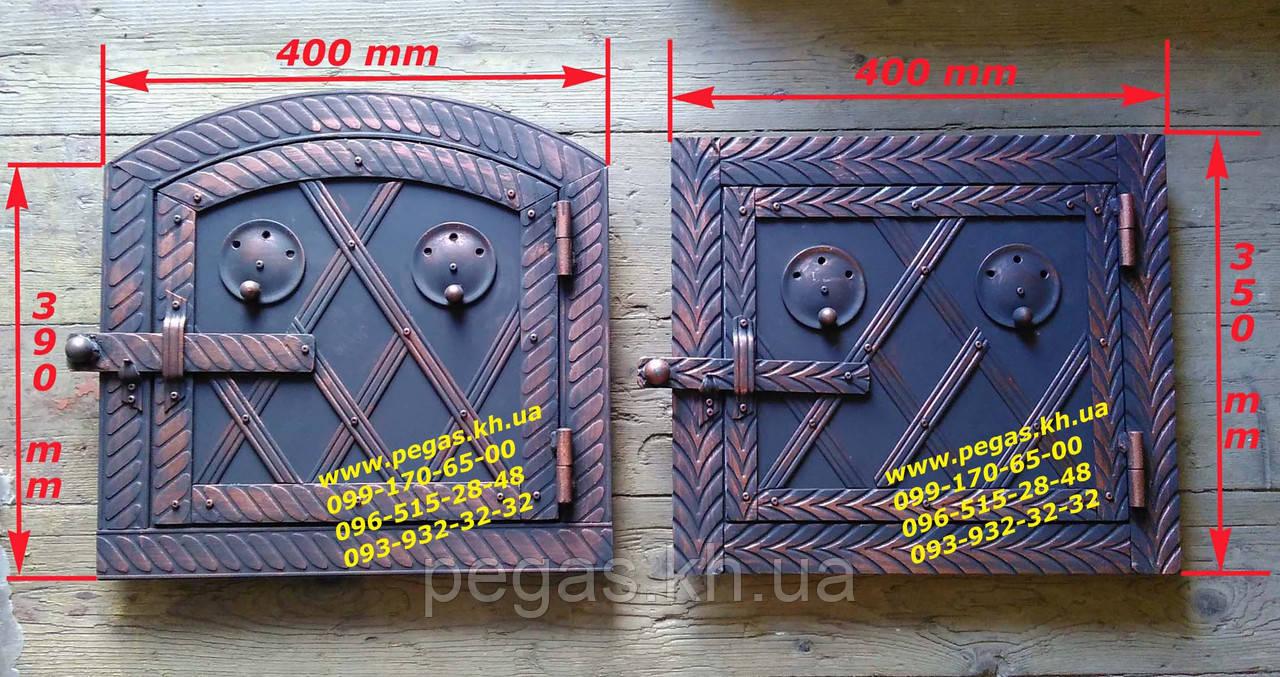 Дверка металлическая для духовки печи, грубу, барбекю