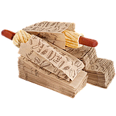 Упаковка для французских хот-догов
